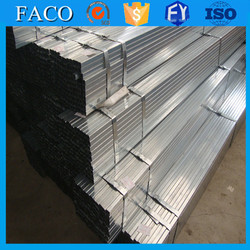 Tianjin gi square rectangular pipe ! galvanized square tube tianjin china hot dipped galvanized steel gas pipes