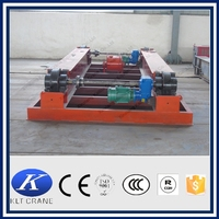 Electric flat car carriage for warehouse