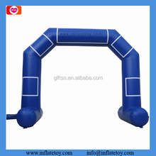 4X4 Meters outdoor event inflatable entrance arch Blue balloon arch for sale
