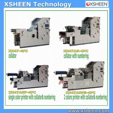 Bill making machine with offset printing press for sale usa,ryobi offset press,offset printing press for sale