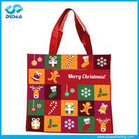 Non Woven Reusable Shopping Bag Christmas Tote Bag Eco Friendly Shopping Bag