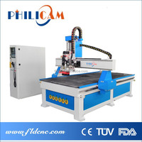 Hot sale China Jinan 1325 atc woodworking cnc router& automatic tool change