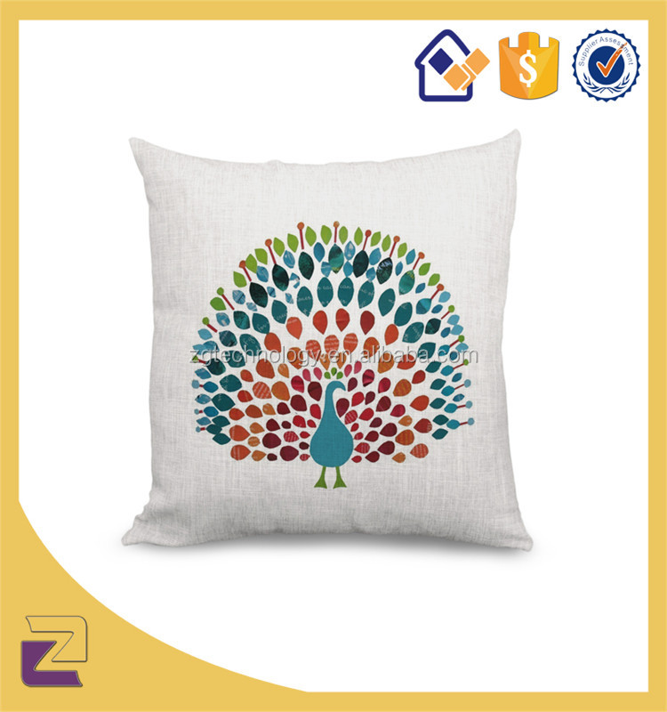 Home Decorative Items Peacock Embroidery Painting Designs