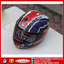 KCM1627 Tfull-face helmet ARAI run double lens helmet motorcycle helmet stunning color FOR SALE