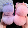 Lovely Plush Rabbit Cover for iPhone6 Plush Rabbit Case