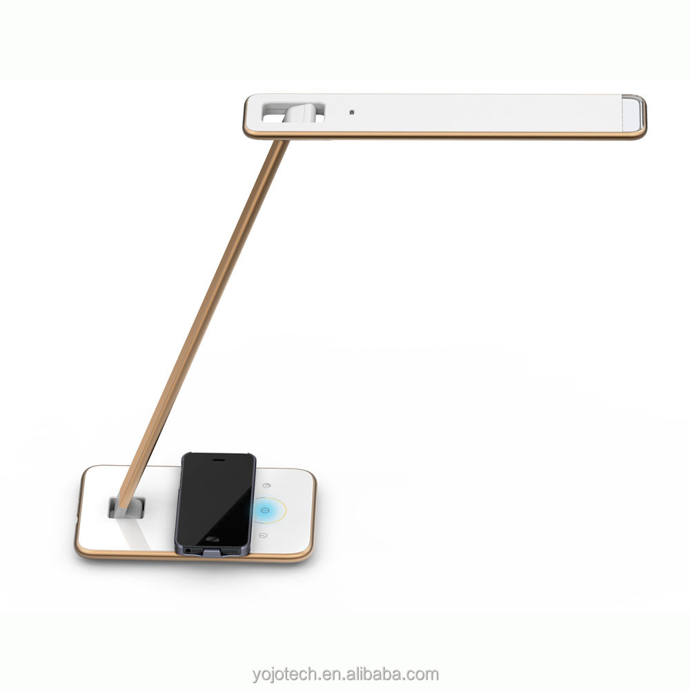 Led Table Lights Qi Wireless Charger With Five Steps