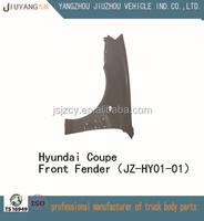 Hyundai car spare part front fender, front mudguard