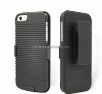 cheap mobile phone case for iphone 5 with kickstand cellphone case