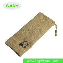 hot sale delicate linen pen bags of drawstring