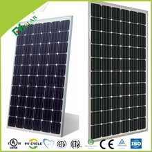 good sale competitive price of 190w 200w 210w mono black cell solar panel