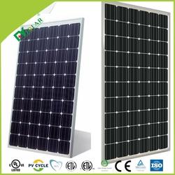 good sale competitive price of 190w 200w 210w mono black cell solar panel