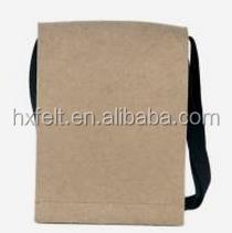 Hot Sale Lastest Design Polyester Felt Long Shoulder Bag For Man