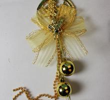 YUWU Caddy SDZS-102 Wholesale Clear Plastic charistmas hanging Ball Christmas Ornaments