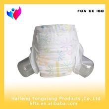 Baixo preço da alta qualidade do bebê super macia fraldas na China