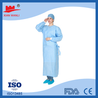 medical kinds of Disposable green surgical kids pictures of latest gown