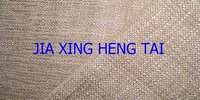 100% polyester Jute Look Silver Bronzing Fabric With T/C fabric