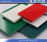 Manufacturer supply high quality and high density PVC plastic board