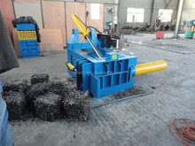 hydraulic horizontal metal baler machine/aluminum can press baler machine