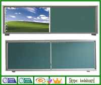 Classroom Multimedia Composite Blackboard with electric whiteboard