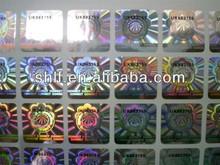 3d laser hologram stickers label
