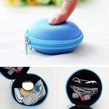 headphone case zipper earphones,waterproof Earphone protetcion case