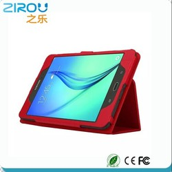 14 Adjust viewing angle genuine leather 10 inch tablet pc leather case covers
