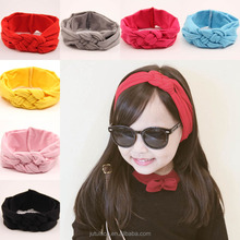 wholesale women fashion multi elastic hair bands for Halloween,knotted pigtail elastic hair band for baby