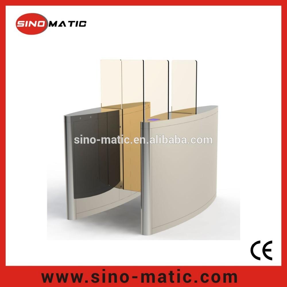 Hệ thống điều khiển OEM / ODM nửa chiều cao trượt cửa hàng rào