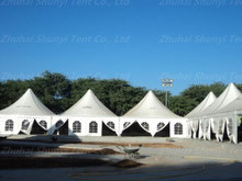 Fire resistant pagoda tent 6x6 for outdoor events