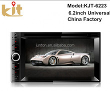 Quality assurance pioneer 2 din 6.2 inch car gps dvd player