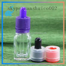 Free samples square clear glass cosmetic bottle cosmetic bottle for essential oil olive oil