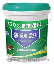 single component polyurethane waterproof coating for swimming