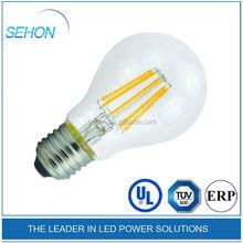 2015 Export America Italy led filamrnt bulb energy saving E27 8W ,high brightness led bulb
