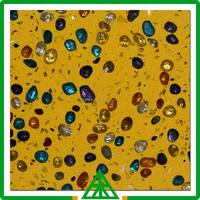 Fashion Color, Yellow Color for Quartz Stone, Good Discount Engineered Quartz Stone Wall Tile