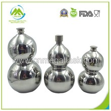 88oz 18/8 Calabash Shape Stainless Steel Wine Flask/Wine Bottle