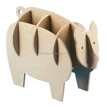 DIY wooden animals, wood craft for decorations, carved animals for umbrella holder