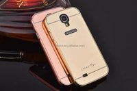 Waterproof phone case for samsung galaxy s4 metal frame bumper case