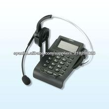 momaural cabeza teléfono móvil para call center