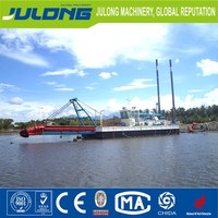 High efficiency cutter suction sand dredger ships for sale