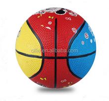 in bulk rubber OEM design basketball
