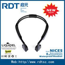 Safe outdoor workout Bone conduction bluetooth headphone