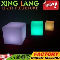 brand new 3d led bar furniture multipurpose waterproof decorative luminous display stand light cube