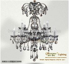 2012 latest prmotion : Royal empire cheap crystal chandeliers with K9 crystal drops,Meerosee china chandelier manufacturer