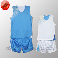 2014 Low MOQ custom european basketball jersey and shorts designs best basketball jersey design