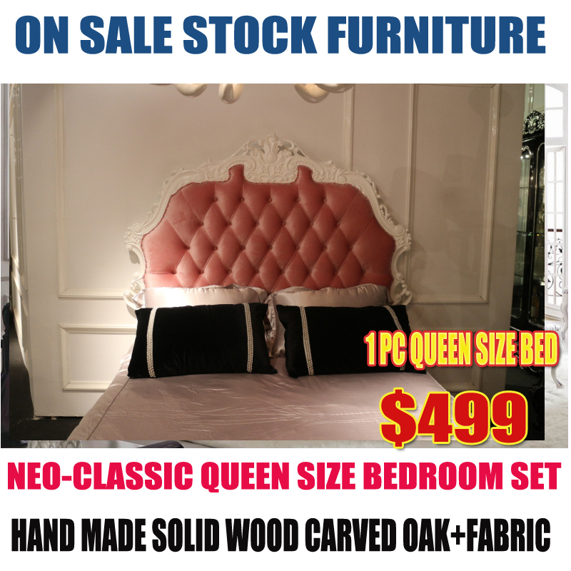 on sale promotion white queen size pink bed noble