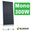 CE TUV IEC UL certificated low price 300wp monocrystalline solar panel
