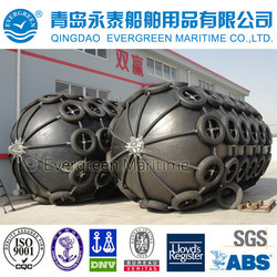 ISO certificated high quality Inflatable floating pneumatic rubber marine yokohama fender with EVERGREEN brand