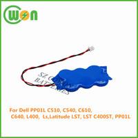 7.2V 20mAh ni-mh CMOS Battery for Dell Latitude C510 C540 C610 C640 L400 PP01L Inspiron 4100 4150