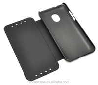 2014 new arrival leather phone case for htc 700
