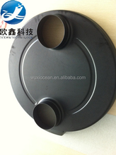 OEM plastic thick ABS /PS/PC round shell vacuum formed products